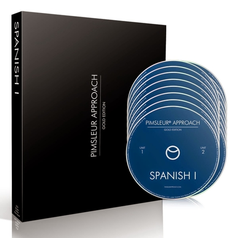 Pimsleur Approach Gold Edition Spanish IV 16 CD's comprehensive language course