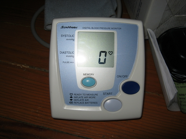 sunmark blood pressure monitor instructions
