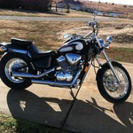 2002 Honda Shadow VLX Deluxe VT600CD