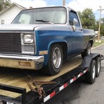 86 GMC Shortbed 2wd.