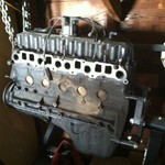 1996 Jeep Engine with Stand