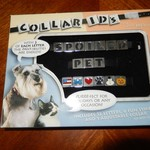 New Pet ID Collar - 52 Letters/symbols Adjustable Collar