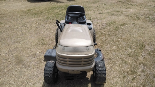 owners manual for craftsman riding lawn mower