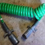 Semi Truck Air Hoses & Electric Lines for Trailer hookup