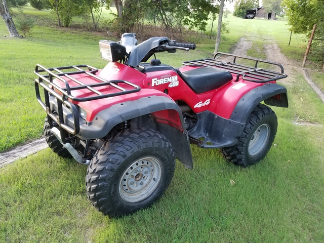 honda foreman trx400 fourwheeler 4x4 atv quad rancher 4wd nex tech classifieds. Black Bedroom Furniture Sets. Home Design Ideas