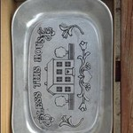 serving plate (new, still in the box)