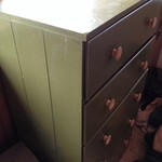 Older antique type dresser 5 drawer