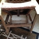 Very old antique wooden rocking chair