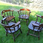 4 Heavy Duty Captain's Chairs