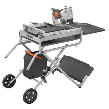 Ridgid 7 Quot Job Site Wet Tile Saw With Laser Model R4007