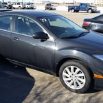 2012, Mazda 6, Black,  52k mi, Save $1500, $$$290/ month!!!