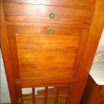 Old Pine Drop Front Cabinet