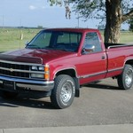 1989 Chevrolet 1500 Regular Cab 4X4 Pickup (Chevy 1/2 Ton)
