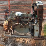 Ford 300 I-6 Motor and Pump (Irrigation)