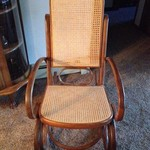okd cane rocking chair
