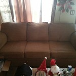 Really nice newer  Full size sleeper couch