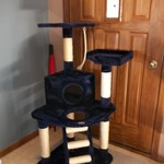 Cat Tree Bed House Condo Pet Furniture