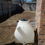 250 gallon water plastic tank