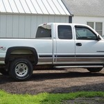 2002 Chevy 2500 Doors