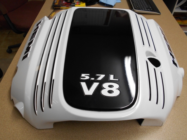 Custom Painted 5 7 Hemi Engine Cover Nex Tech Classifieds