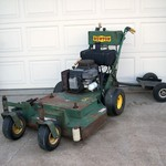 zero turn commercial bunton mower self propelled