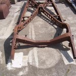 Rust Free 1946 1947 1948 Ford Car Frame