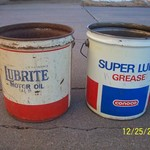 Collectable 5 gal. Conoco Grease Can