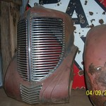1938 Chrysler Grille Assembly - Custom / Rat Rod Project ?