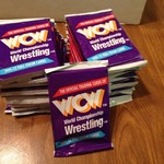 WCW Trading cards in package