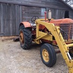 Massey Harris 44 special w loader
