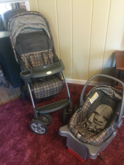 eddie bauer car seat stroller combo nex tech classifieds. Black Bedroom Furniture Sets. Home Design Ideas