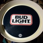 "BUD LIGHT ""SERVING TRAY"""