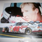 Sterling Marlin #40 Coors Light Car Poster