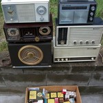 6 Old Radios & TV/Radio & Phono Tubes & Parts (all New)
