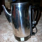 "12 Cup Coffee Pot/Peculator ""Presto"" Stainless Steel"
