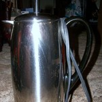 "Coffee Pot/Peculator 2 to12 Cup ""Farberware"" Stainless Steel"