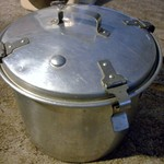 "West Bend Aluminum ""waterless cooker"" 10"" all there"