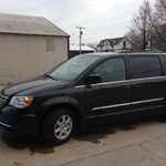 2012 CHRYSLER TOWN & COUNTRY MINI VAN