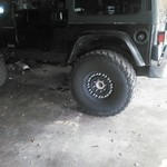 TIRES WHEELS HUMMER JEEP TRUCK