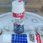 OMC FOGGING OIL AND WHEEL BEARING GREASE