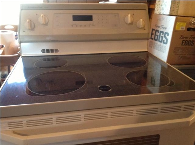 kitchen aid glass top electric range ptci classifieds