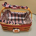 1997 Longaberger All-American Pie Basket