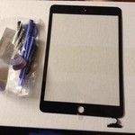 iPad mini replacement screen w/tools