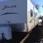 2011 Crossroads Zinger Bunkhouse with ***Outside kitchen ***