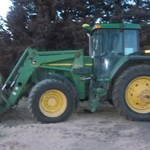 2005 7810 JD tractor and loader ivt
