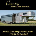 8 x 28 Elite Show Cattle trailer #41BA6