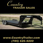 83 x 22 Medium duty equipment/car hauler