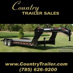 82 x 22 GN HD steel floor equipment/car trailer #31BDB