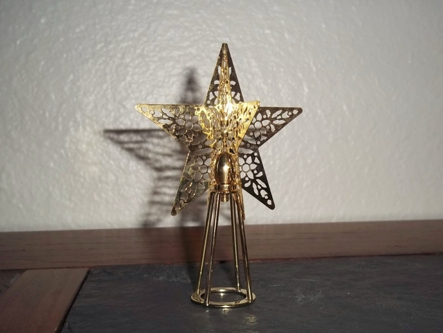 Hallmark mini tree topper