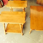 Three Piece End Table Set
